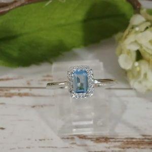 Jewelry - Swiss Blue Topaz Ring
